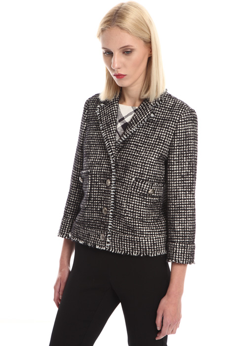 Houndstooth jacket Intrend