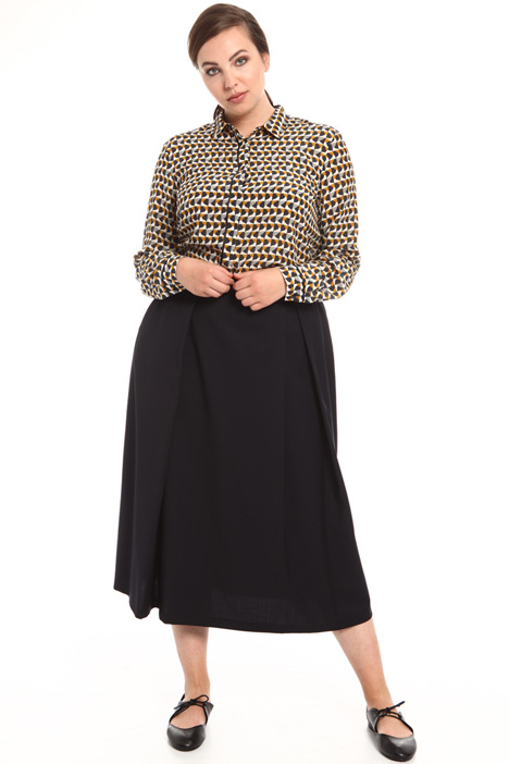 Technical wool skirt Intrend