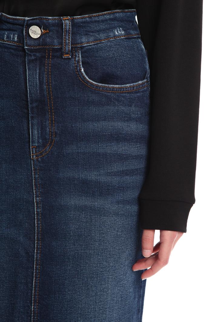 Five pocket denim skirt Intrend