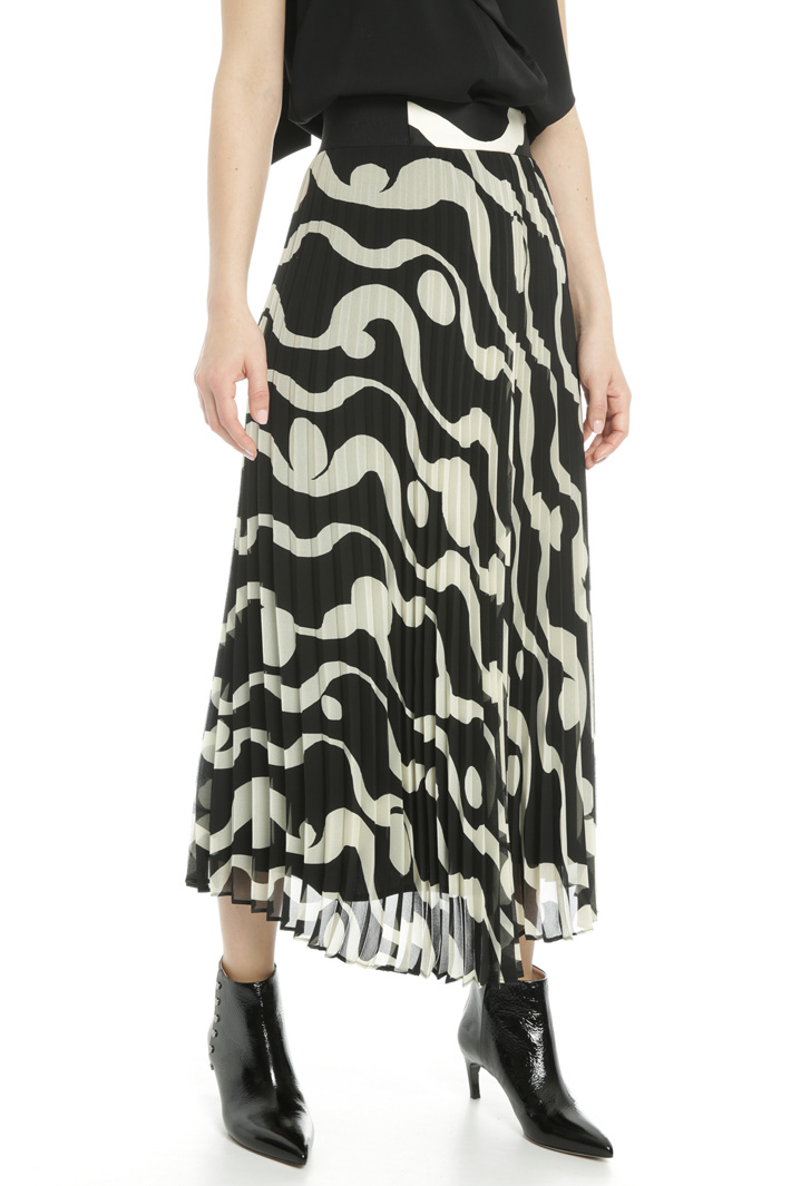 Printed midi skirt  Intrend