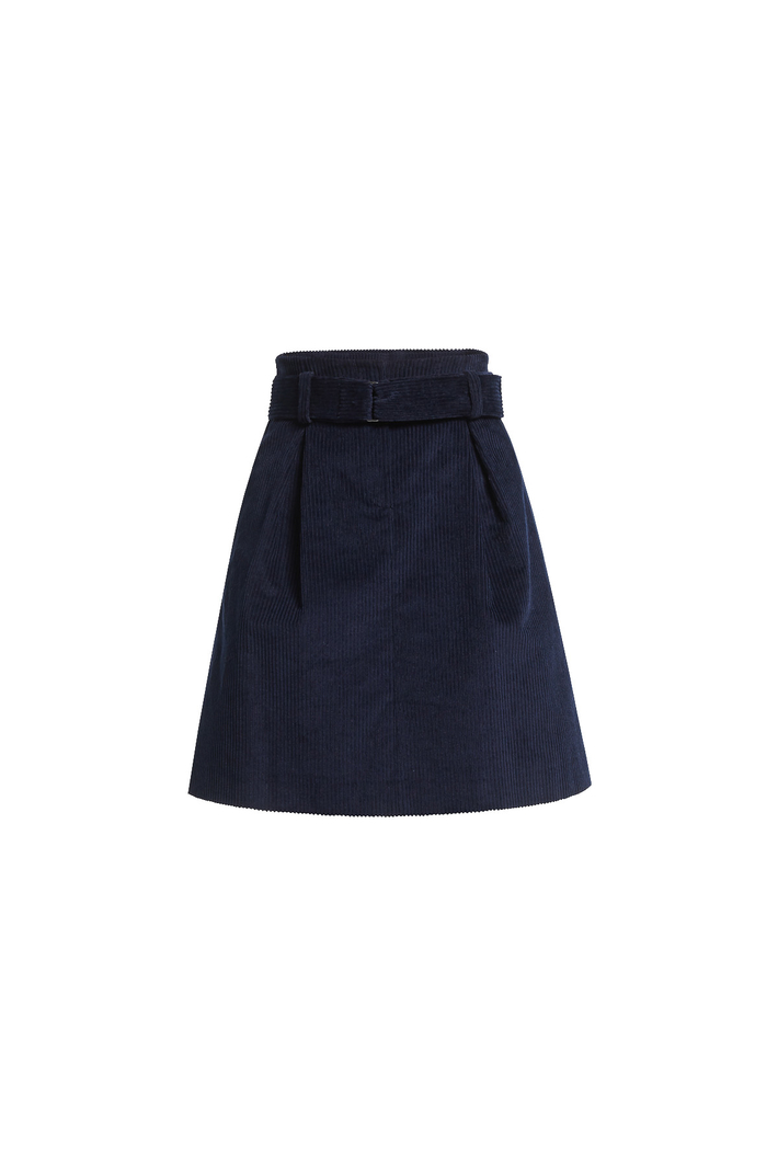 Flared velvet skirt Intrend