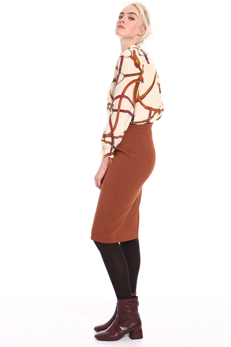 High waist sheath skirt Intrend