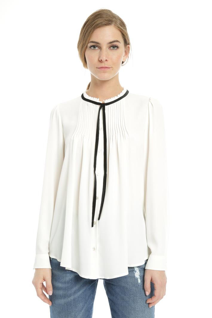 Silk crepe shirt  Intrend