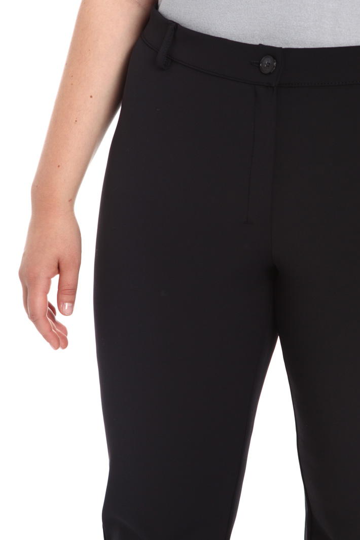 Trousers in technical fabric Intrend