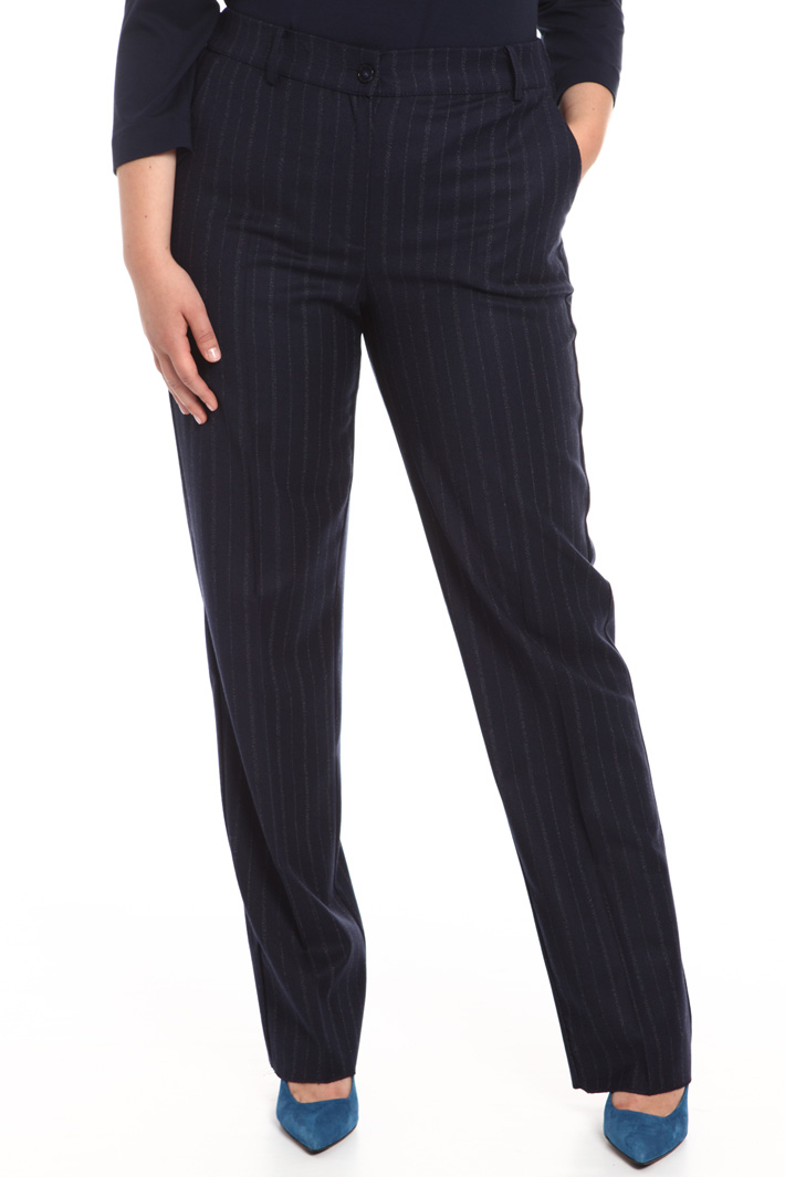 Pure wool trousers Intrend