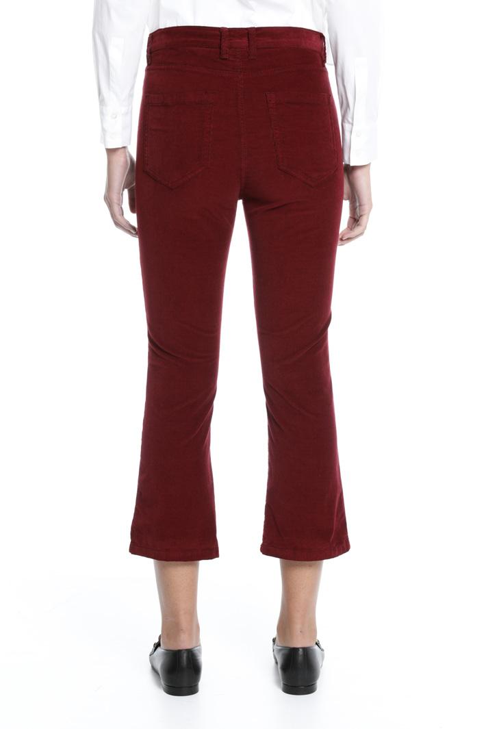 Pantaloni in velluto Intrend