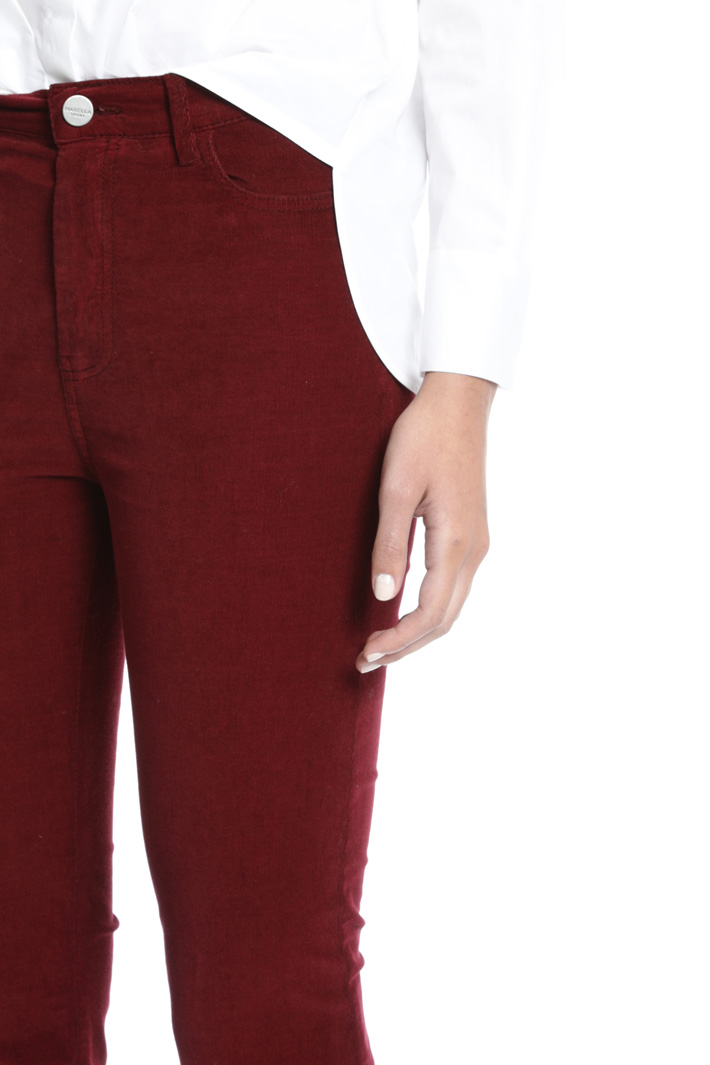 Velvet trousers Intrend