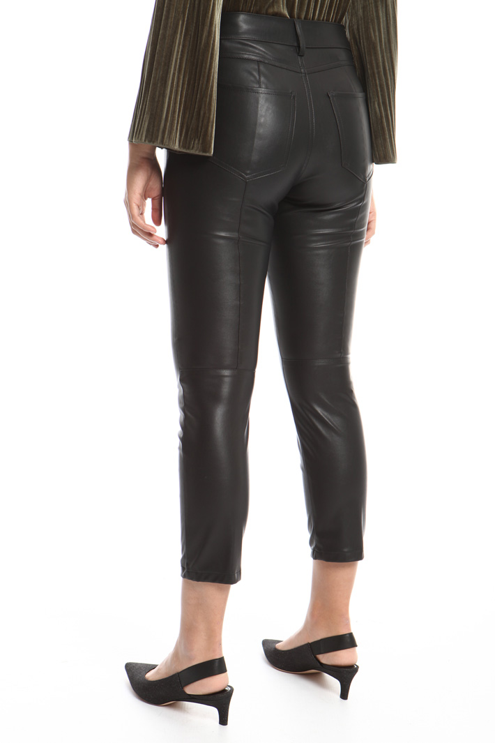 Coated skinny trousers Intrend
