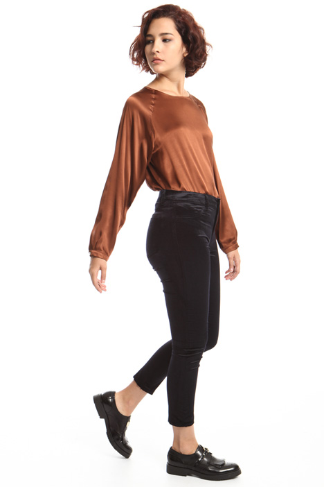 Velvet skinny trousers Intrend