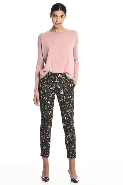 Jacquard trousers Intrend