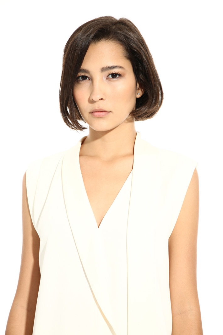 Scarf-neck top Intrend