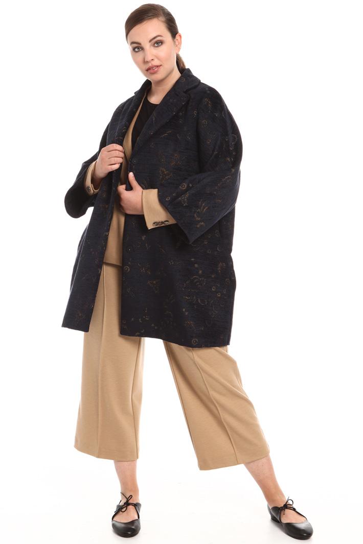 Jacquard chenille coat Intrend
