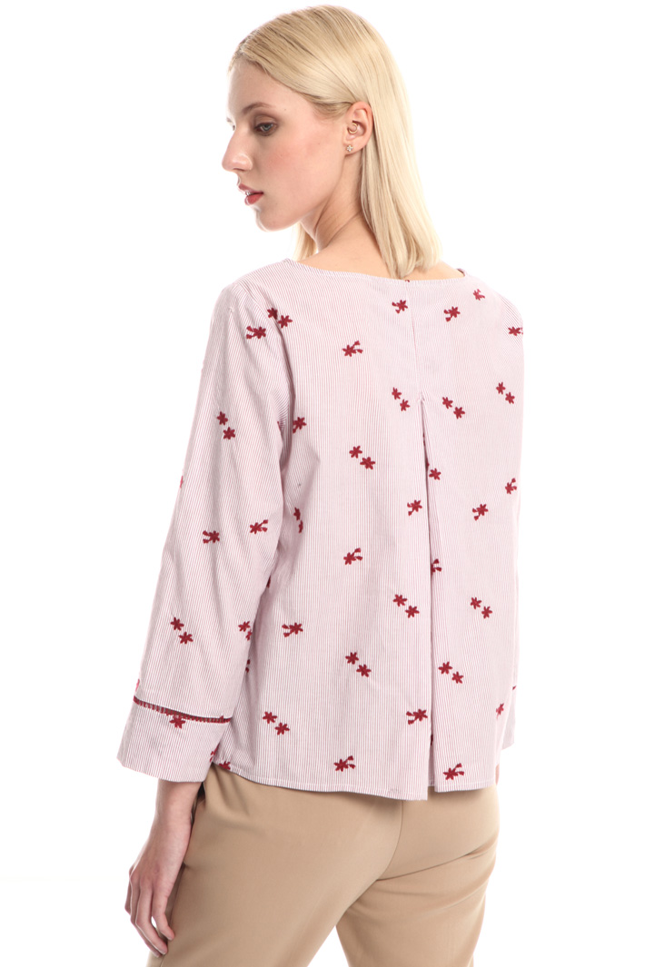 Embroidered cotton blouse Intrend