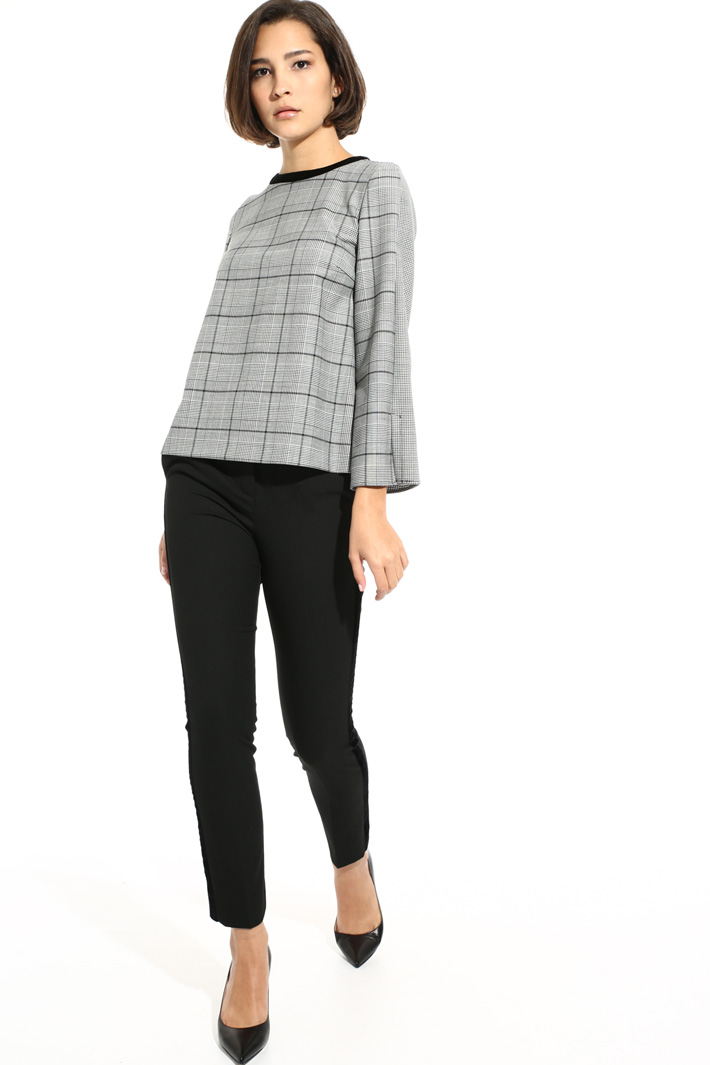 Wool blend tunic Intrend