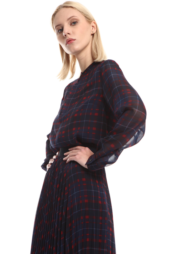 Printed chiffon blouse Intrend