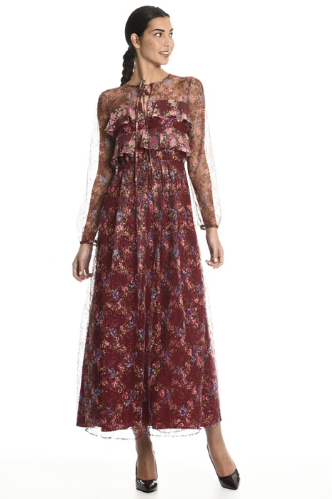 Printed lace dress Intrend