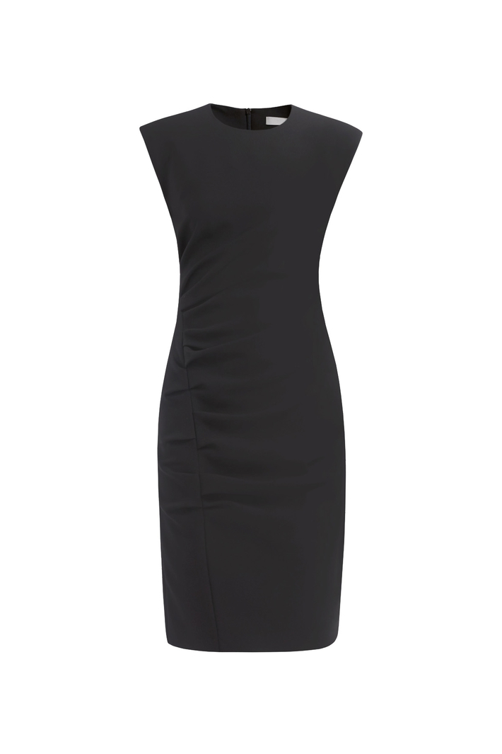Sheath dress with gathering Intrend