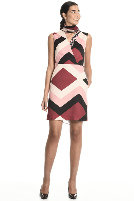 Geometric pattern dress Intrend