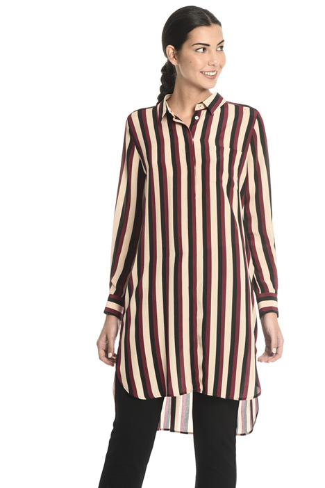 Long crepe shirt Intrend