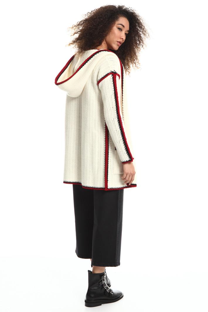 Knit wool coat Intrend