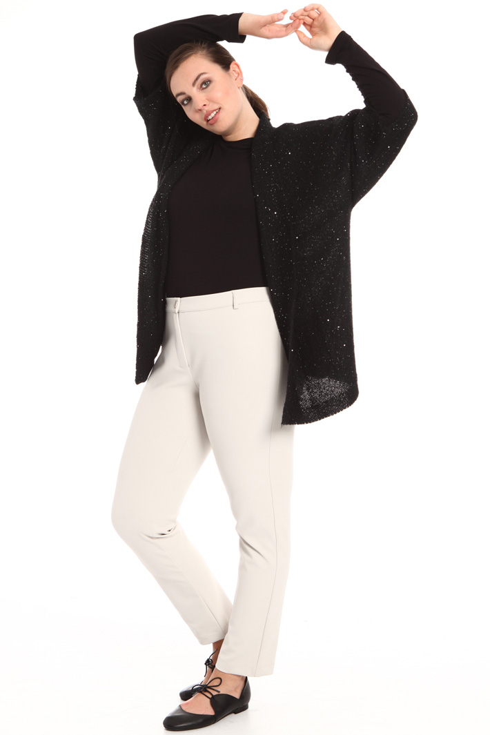 Mohair and sequin cardigan Intrend