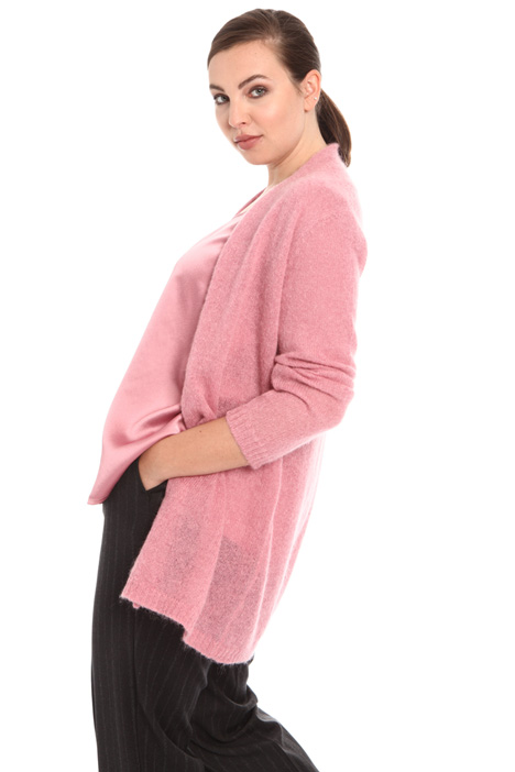 Cardigan in alpaca e mohair Intrend