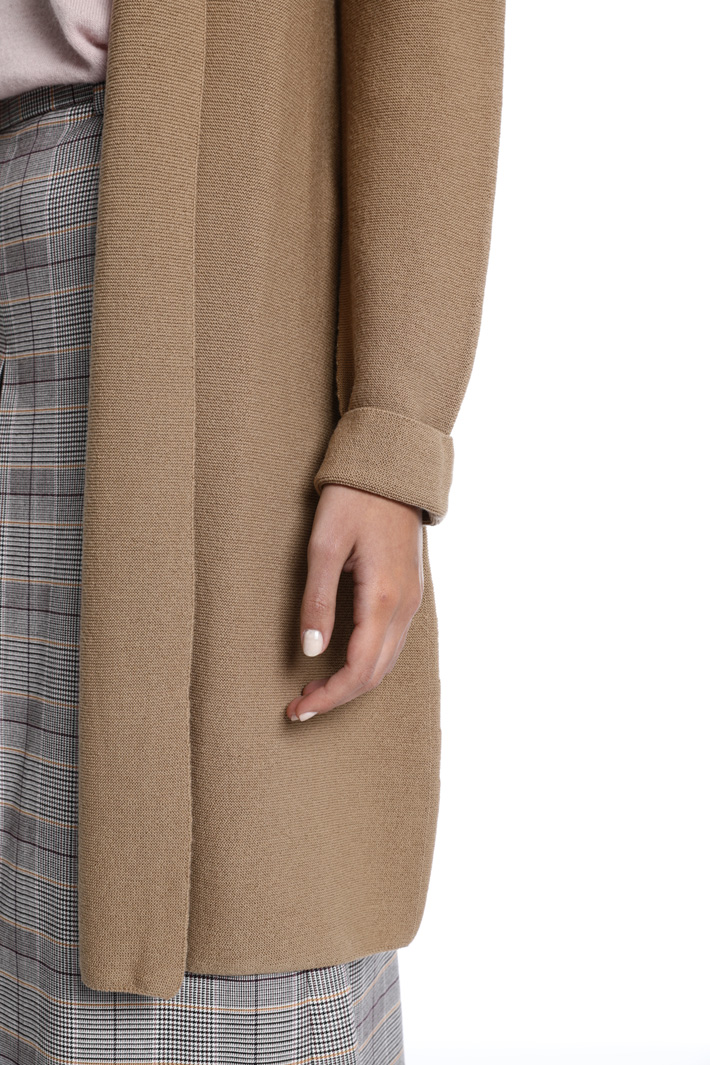 Cardigan in pura lana Intrend