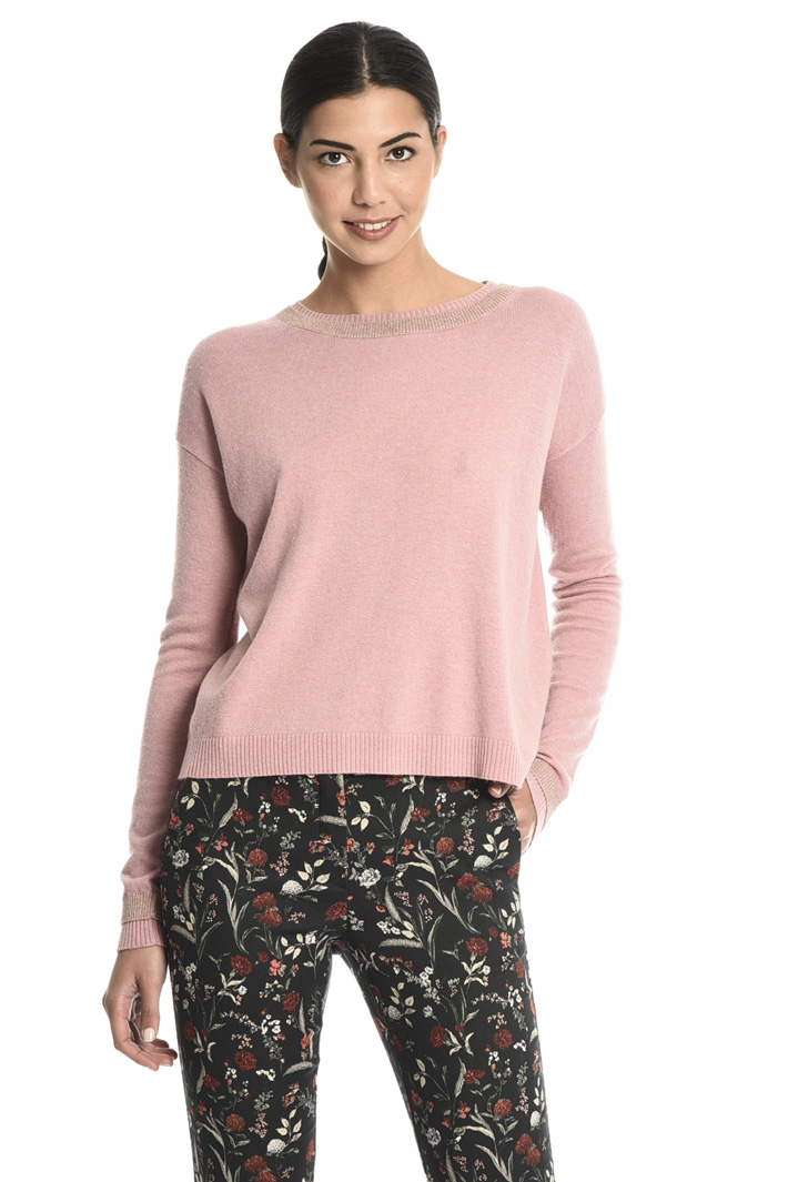 Crossed back sweater Intrend