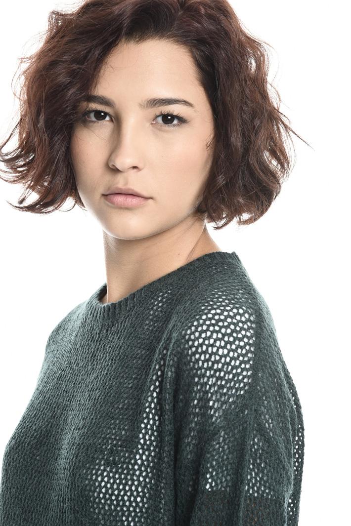 Wool blend mesh sweater Intrend