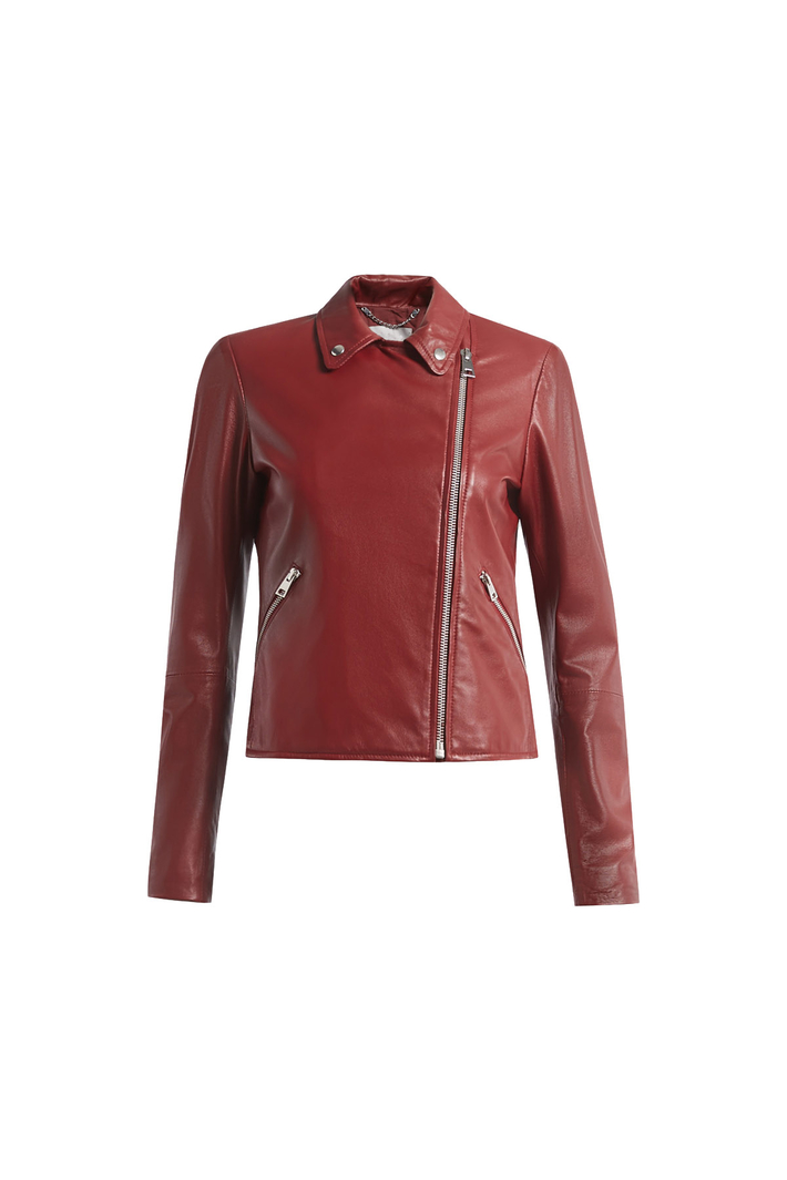 Real leather jacket Intrend