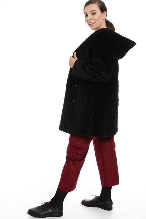 Quilted velvet coat Intrend