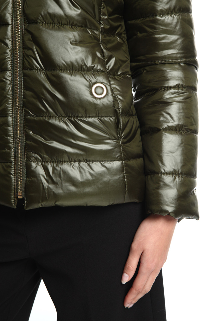 Reversible puffer jacket Intrend