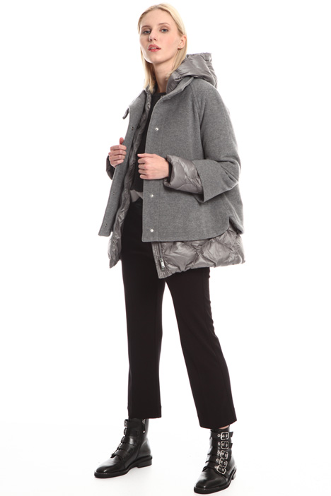 Cape with matching down jacket Intrend