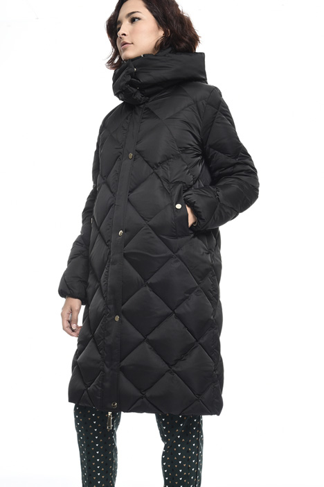 Reversible satin down coat Intrend