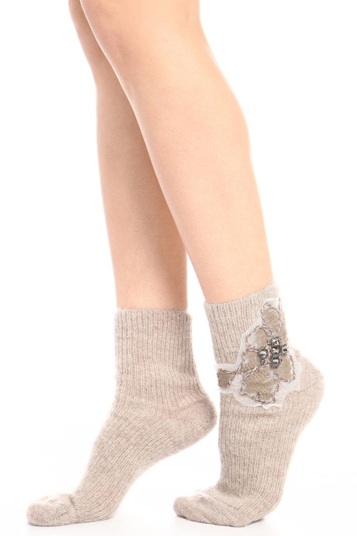 Mohair socks Intrend