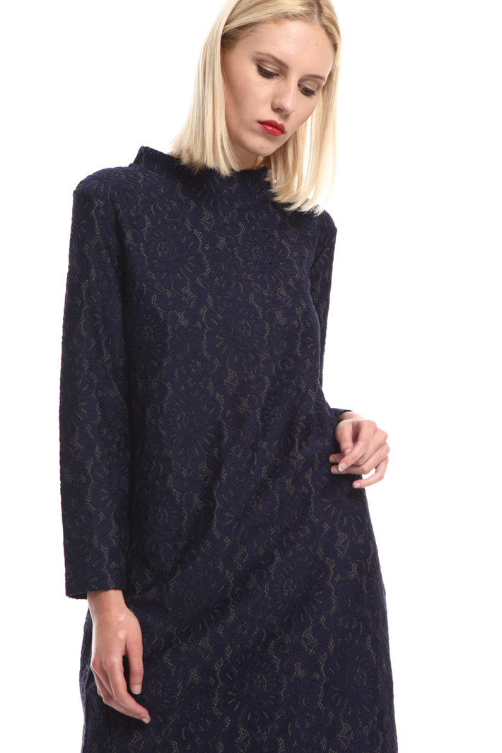Bonded jersey dress Intrend