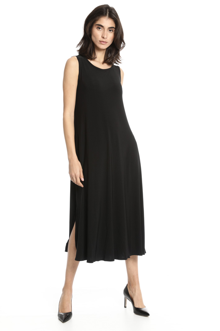 Jersey dress with pockets Intrend