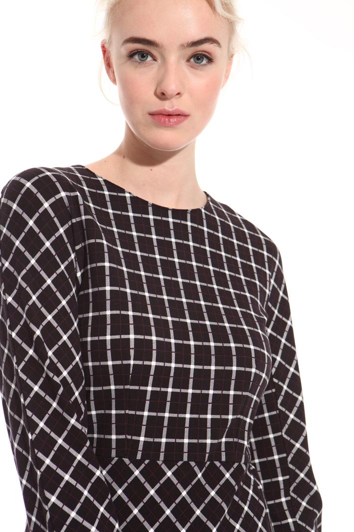 Milano stitch jersey dress Intrend