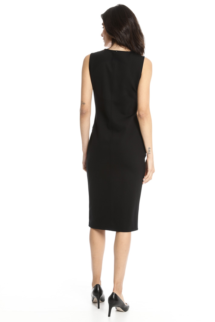Compact jersey tube dress Intrend