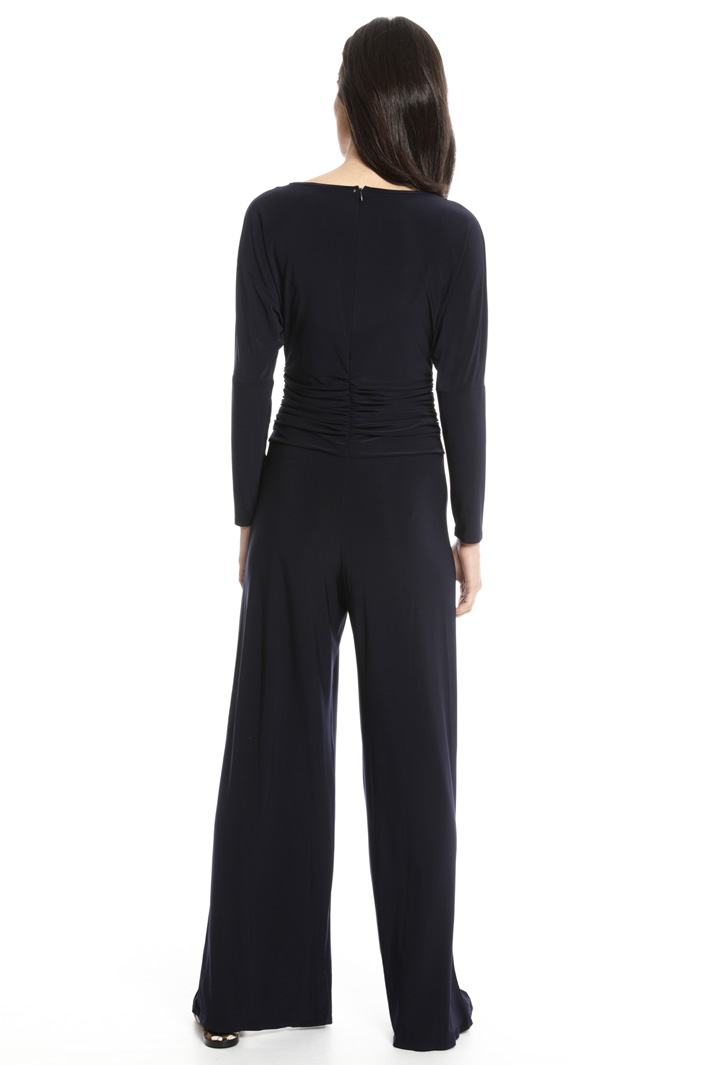 Glossy jersey jumpsuit Intrend