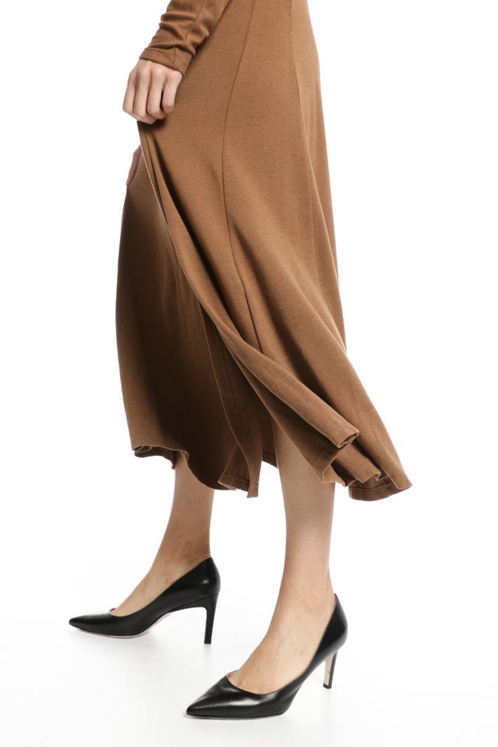 Surplice neck dress Intrend