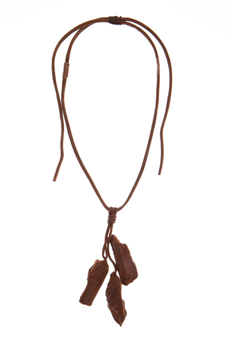 Suede leather necklace Intrend