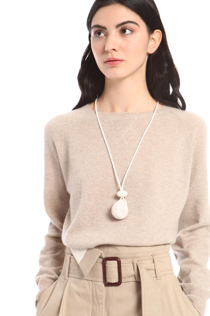 Stone pendant necklace Intrend