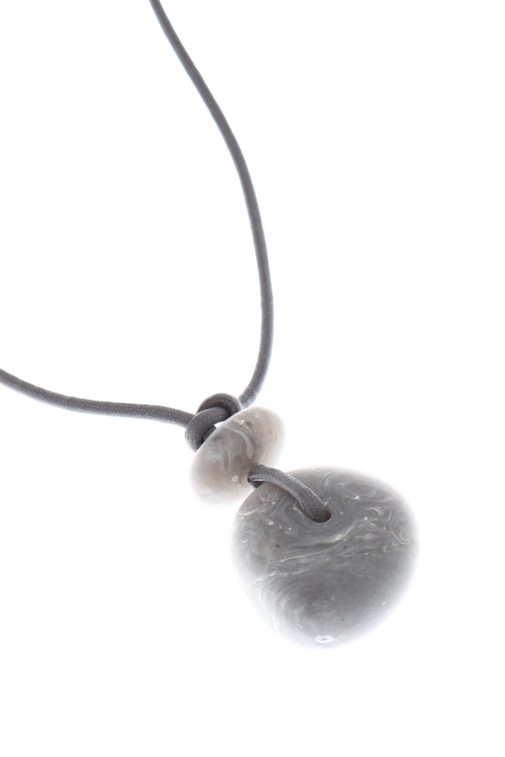 Stone pendant necklace Intrend