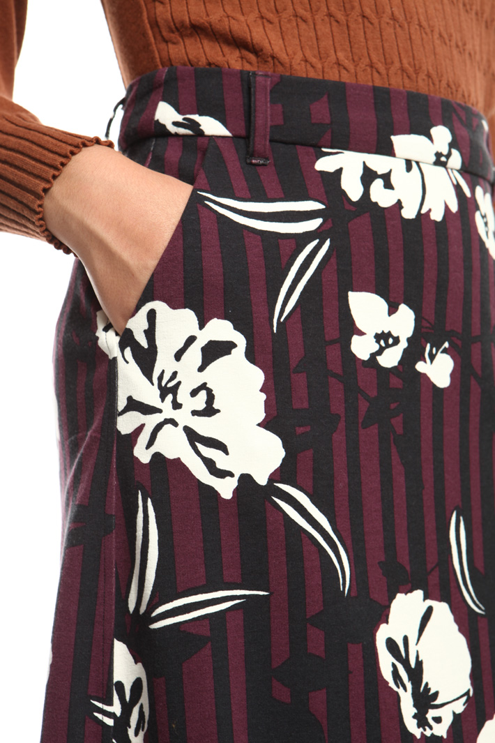 Milano stitch jersey skirt Intrend