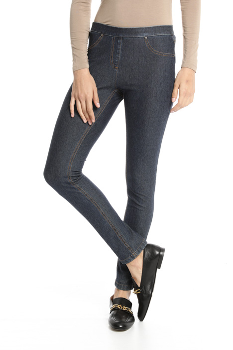 Long cotton jeggings Intrend