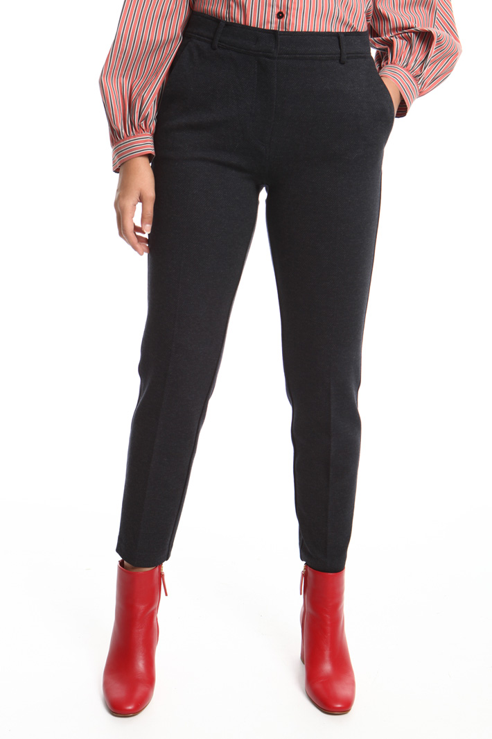 Fitted jersey trousers Intrend