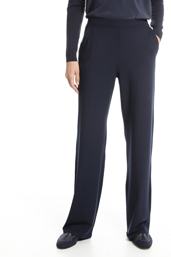 Long jersey trousers Intrend