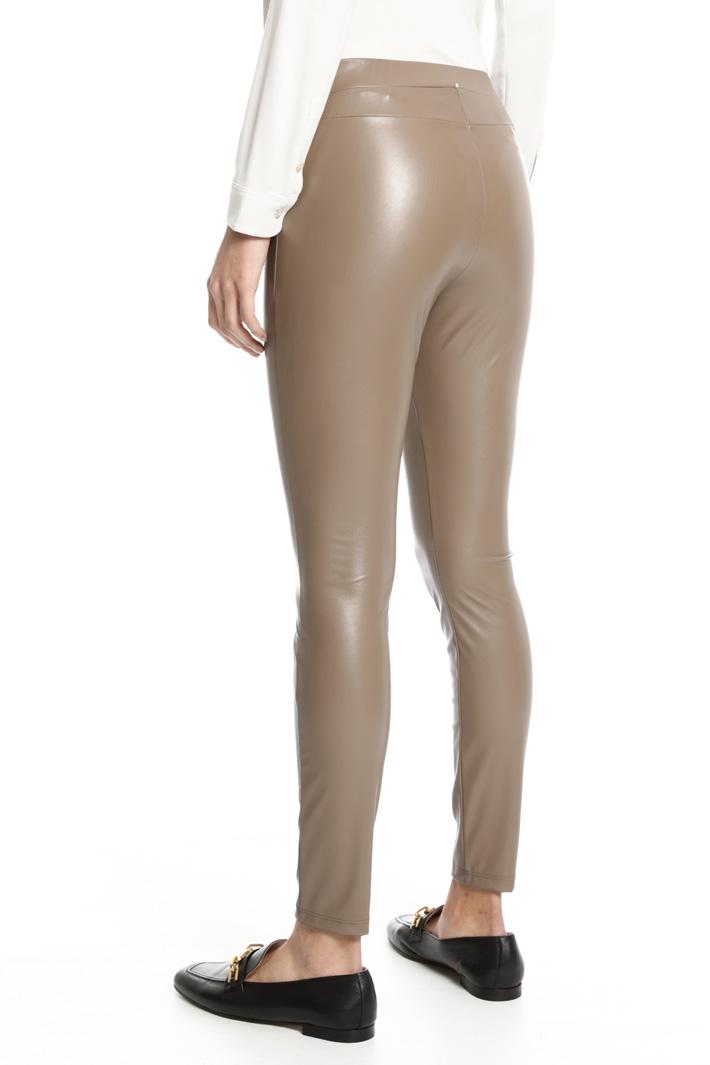 Coated leggings Intrend