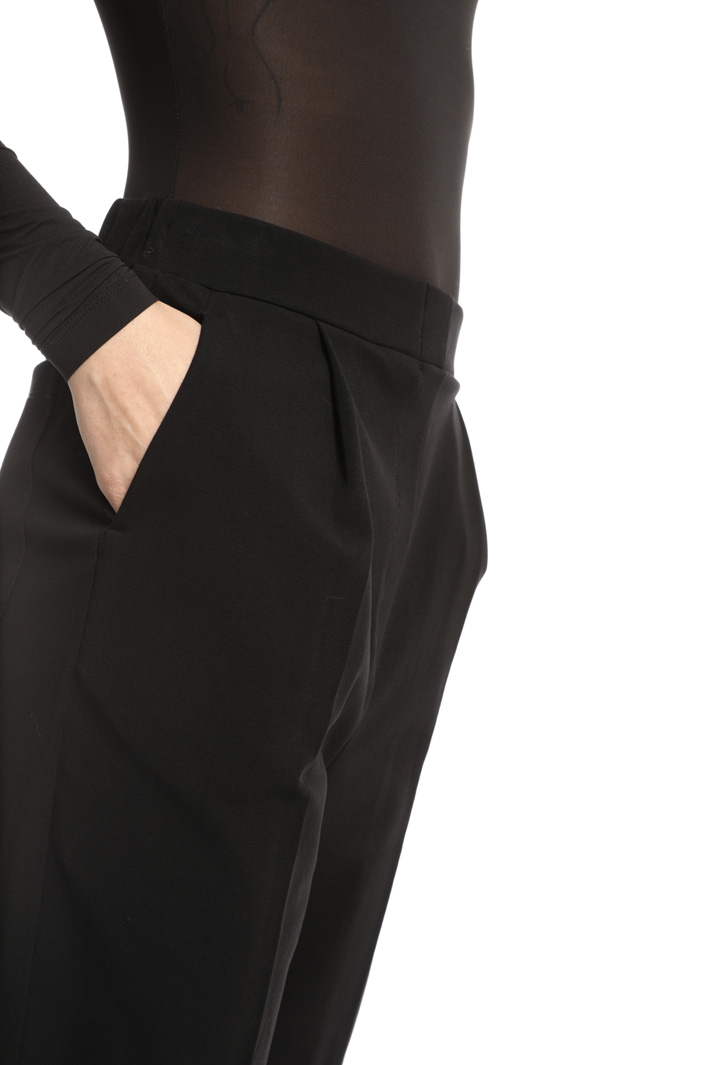 Cotton jersey trousers Intrend